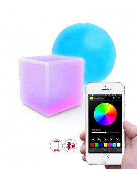 Lampe d'ambiance Bluetooth LED Couleur AwoX