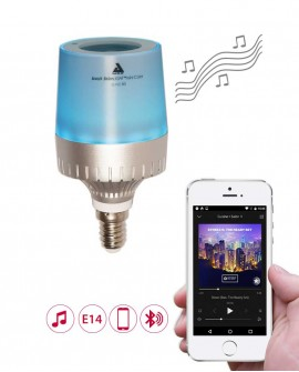Smart LED bulb with speaker - E14 - AwoX