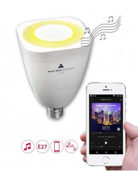 Wi-Fi LED bulb with speaker - E27 - AwoX