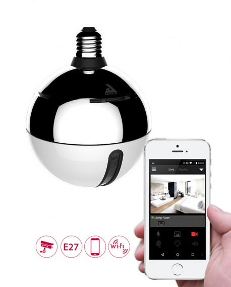 Ampoule LED avec Camera WiFi - AwoX