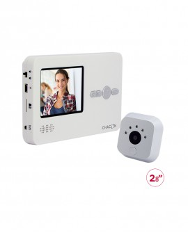 Peephole videodoorphone