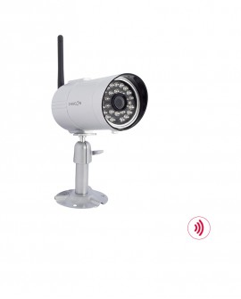 Camera for wireless videodoorphone