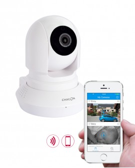 HD motorised indoor WiFi surveillance camera