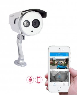 HD outdoor WiFi surveillance camera