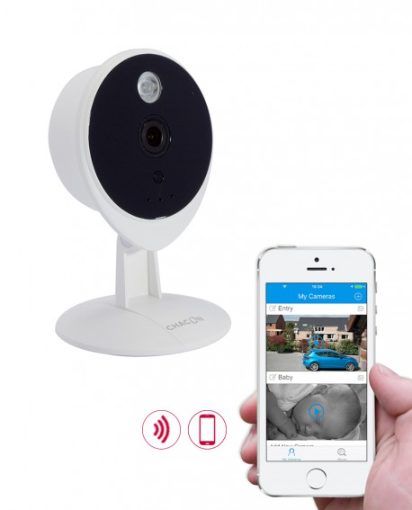 meta title chacon hd indoor wifi camera. Black Bedroom Furniture Sets. Home Design Ideas