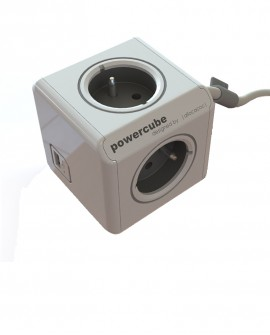 Power Cube con cargador USB