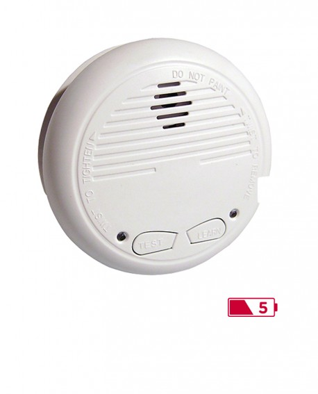 Lot of 2 smoke detectors interconnected