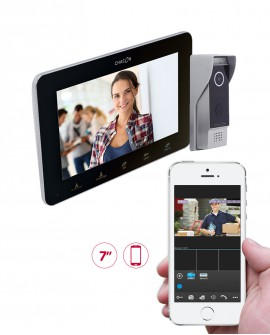 Wi-Fi IP videodoorphone with LCD screen
