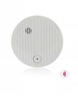 Smoke detector for wireless alarm