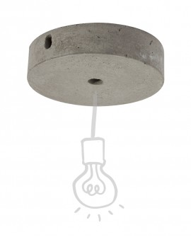 Cement ceiling rose