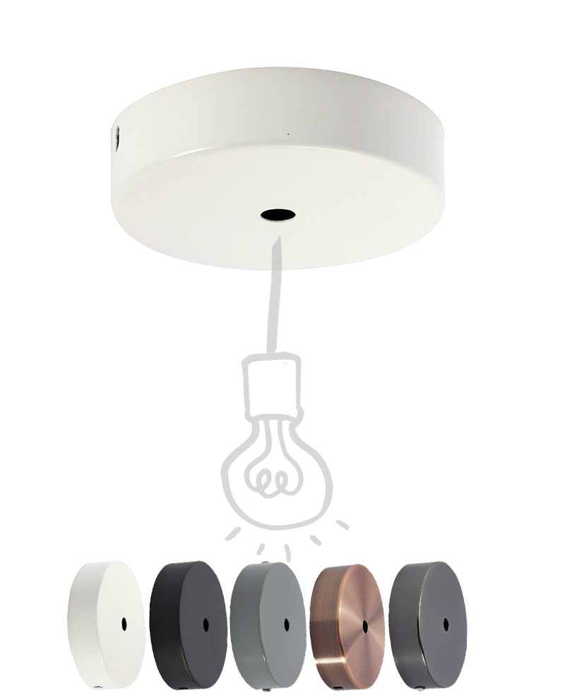 Ceiling Rose Muuto E Canopy Kit Communal Chandelier Pendant Switched Socket Outlet 10 Amp 240 Volt Electrotraders Online Metal