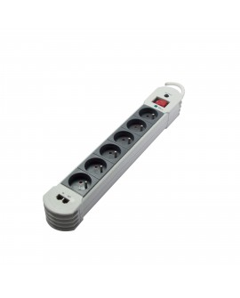 Design power strip with surge protection 6x with switch