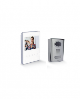 "4,3"" Videodoorphone with 2 wires"
