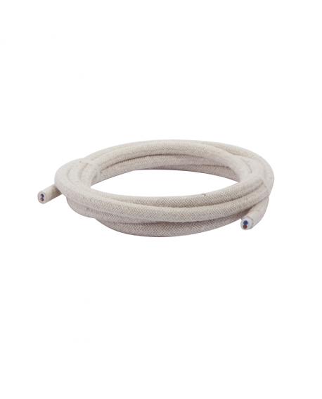 Lighting solid fabric cables (3m)