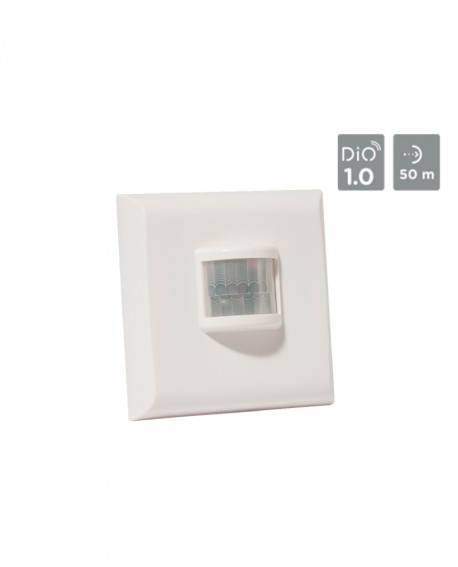 Wireless motion detector wall switch