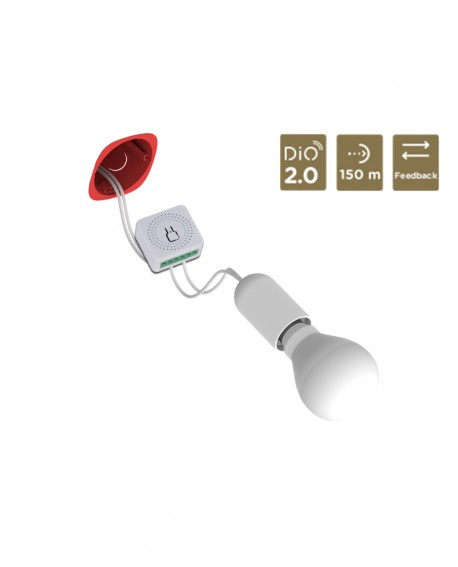 DiO 2.0 Smart flush-mounted lighting micromodule